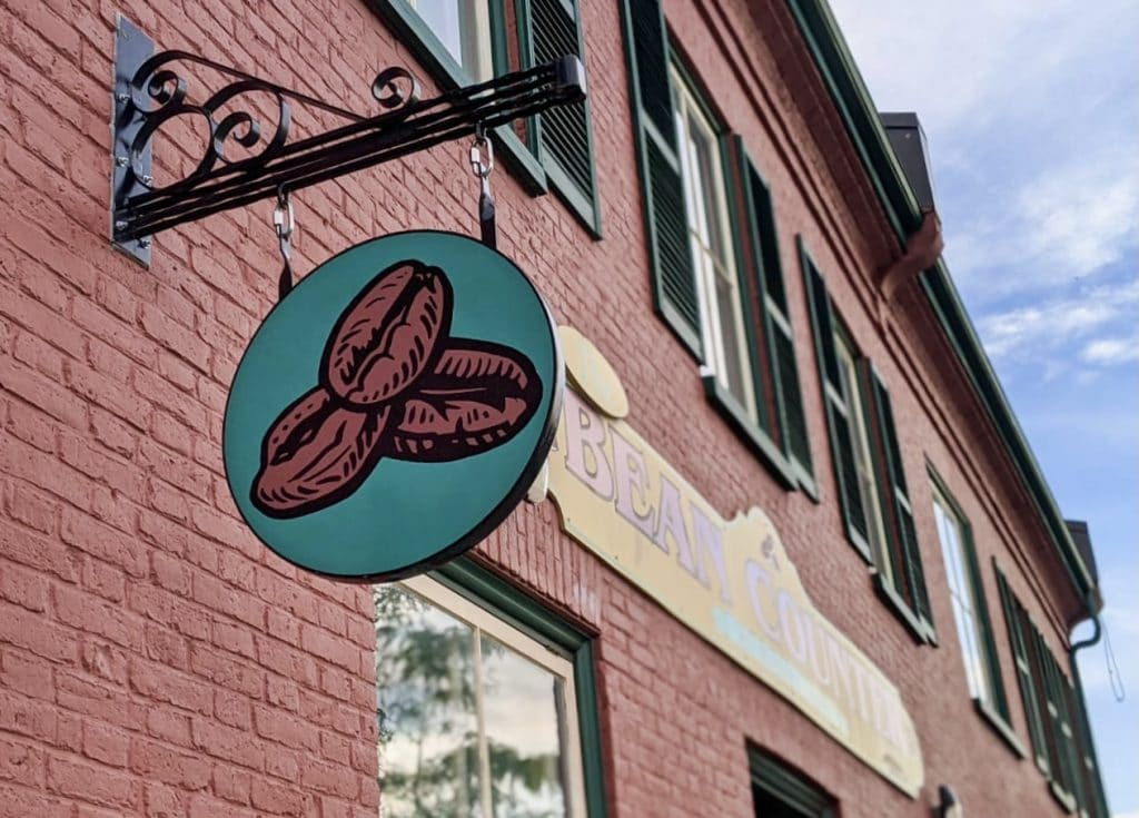 The Bean Counter Cafe in Picton, Prince Edward County