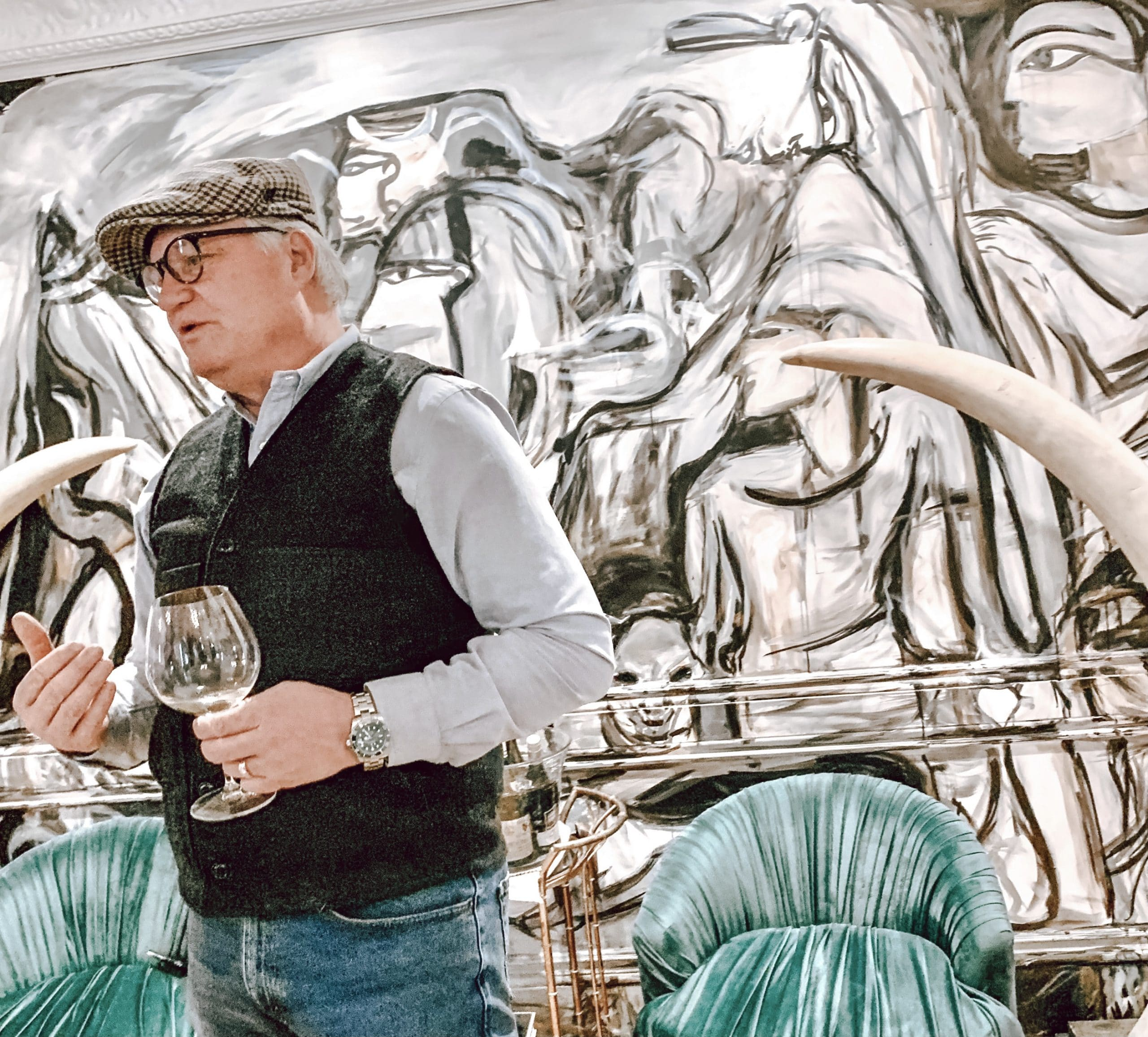 The Chris Braney Experience Host of Closson Chase Cellar Salon