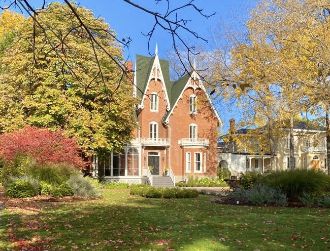 Merrill House Garden View, Picton, Prince Edward County