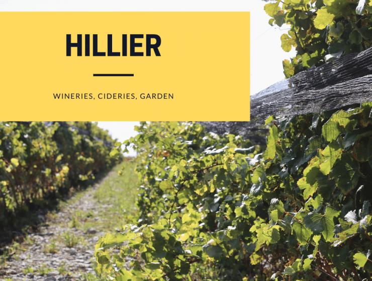 hillier, prince edward county, neighbourhoods