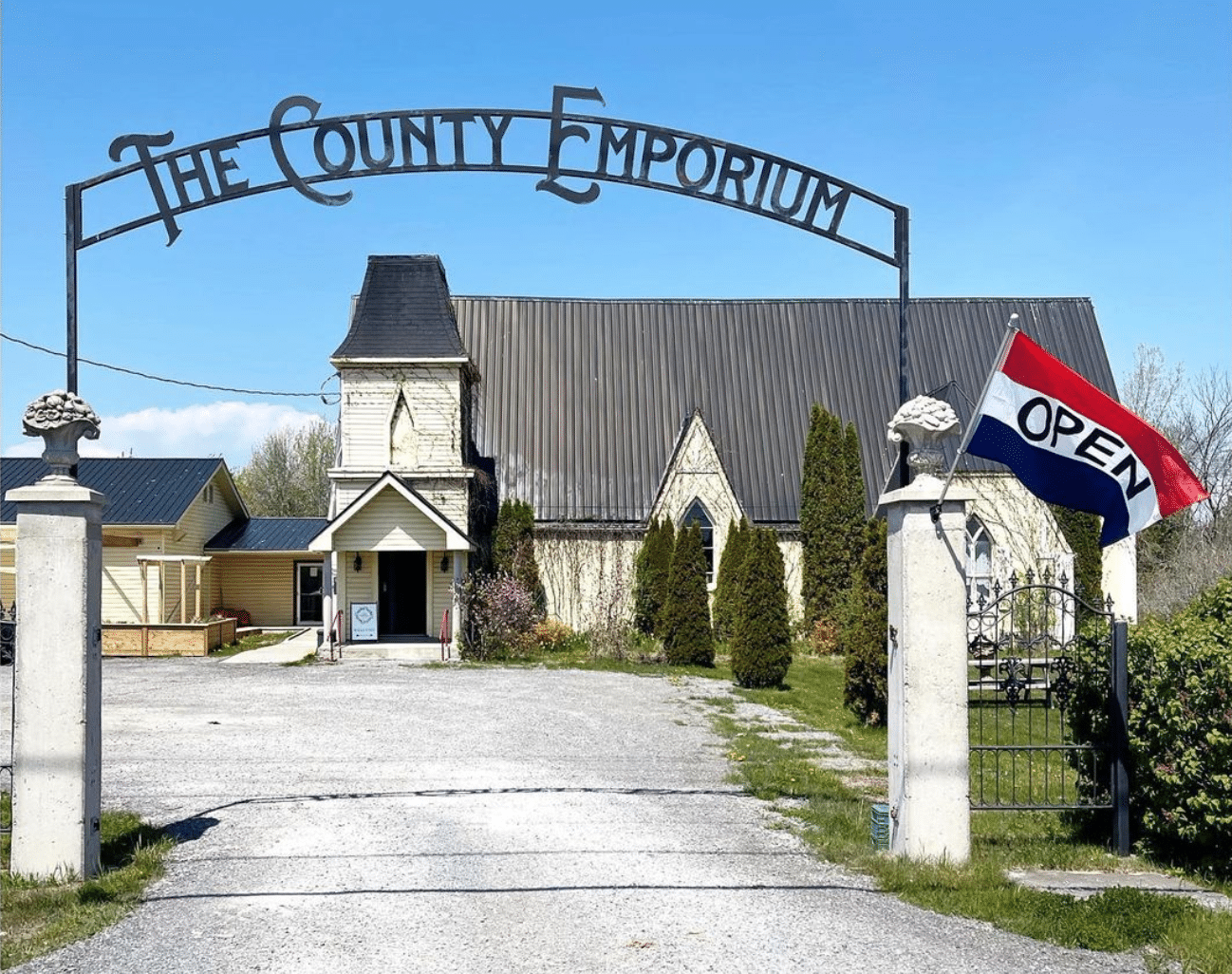 View of The County Emporium in Carrying Place, Prince Edward County