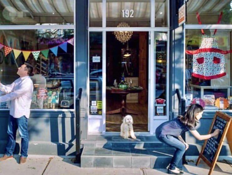 Storefront. Zest Kitchen Shop, Picton, Prince Edward County