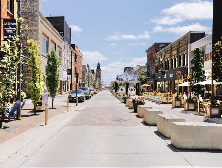 Downtown Belleville, Main Street